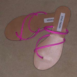 Steve Madden wise pink sandal size 7